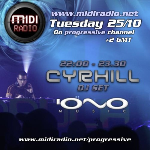 CYRHILL - DJ SET MIDI RADIO - NOVEMBER 2011