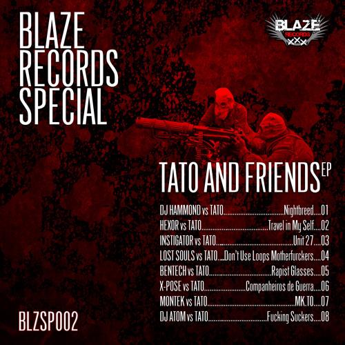X-POSE vs TATO - Companheiros De Guerra [Blaze Records BLZSP002] preview