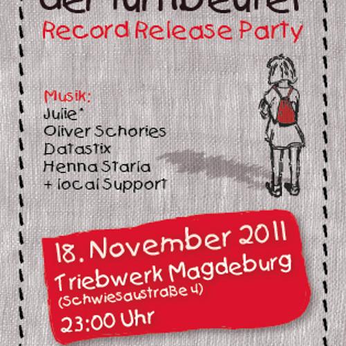 "Oliver Schories - DJ Set @ ""der turnbeutel"" Record Release (Magdeburg 18.11.2011)"