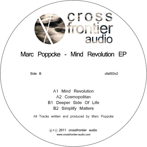 Out now: CFA003 - Marc Poppcke - Mind Revolution EP