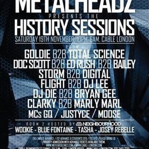 Flight B2B Lee & MC GQ @ Metalheadz History Sessions