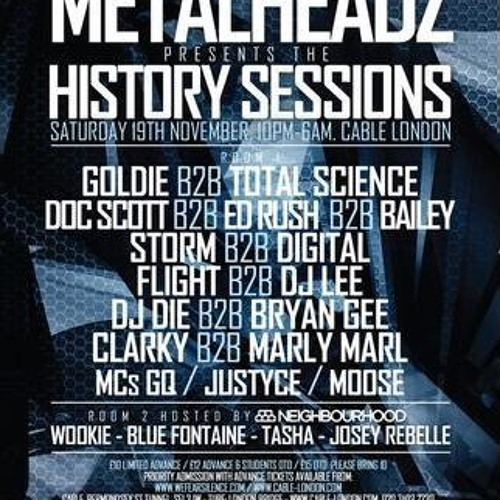Marly Marl B2B Clarky @ Metalheadz History Sessions Part 1