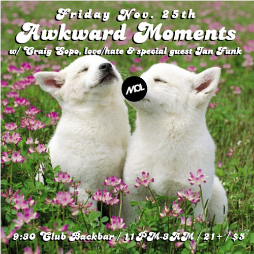 Craig Sopo presents The Awkward Moments Mix