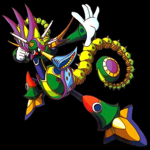 Mega Man X3 - Toxic Seahorse Stage by Fernando Baruni   Free