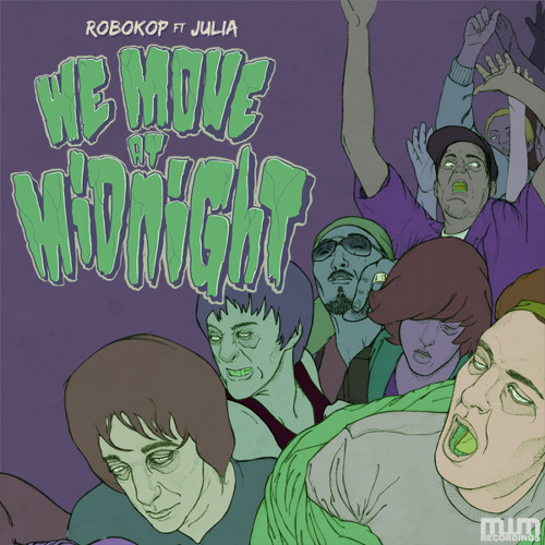 "Robokop feat Julia - We move at midnight - 12"" promo MWMV02"
