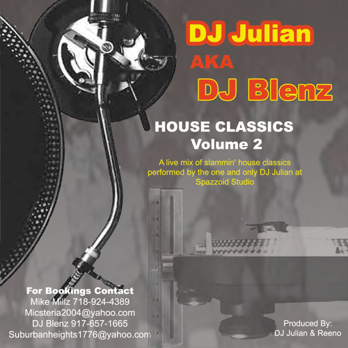 DJ Blenz House Classics Vol 1
