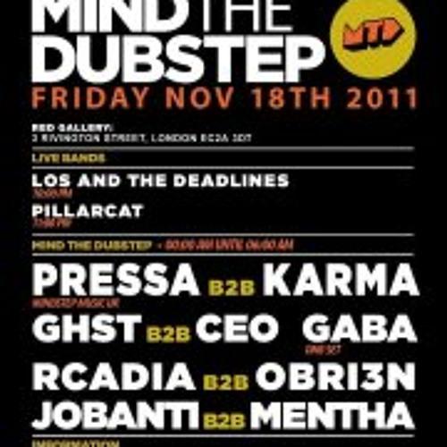 Mentha b2b Jobanti + Shorty MC live @ Red Gallery MTD 18/11/11