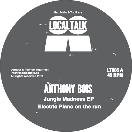 Anthony Bois - Electric Piano On The Run (LT005, Side A)