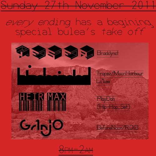 Live 'Before noon 27-11-11'@Horse&Groom