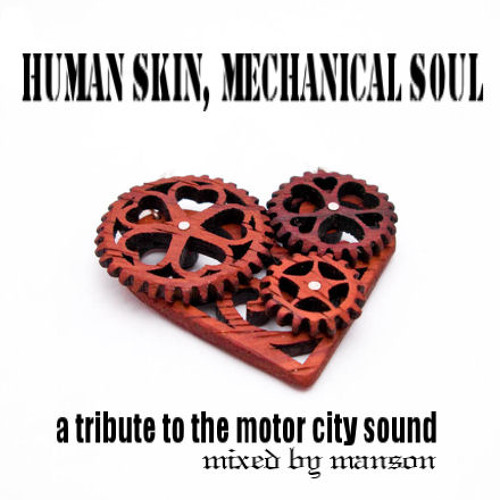 Human skin, mechanical soul