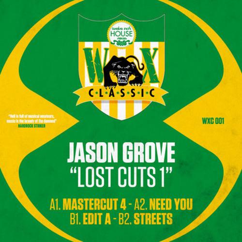 JASON GROVE -Mastercuts 4 - LOST CUTS EP#1 - WAX CLASSIC 4