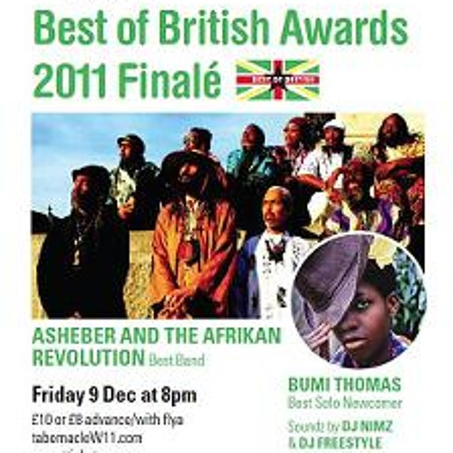 Wom@tt Best of British 2011 finale Fri 9 Dec invite