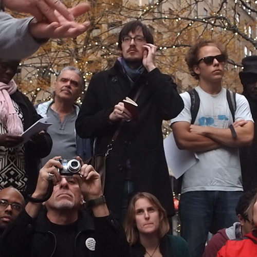 Occupy Wall Street Consensus Teach In C.T. Lawrence Butler co-founder Food Not Bombs Consensus.net