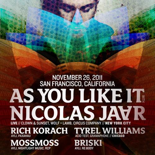 Briski at AYLI w Nicolas Jaar 11/26/11
