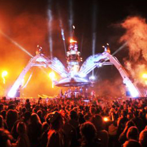 Wonka-Vision @ Electric Picnic 2011, Arcadia Spectacular