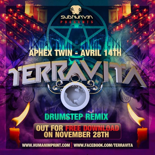 Aphex Twin- Avril 14th (Terravita Drumstep Remix) - FREE 320k DOWNLOAD