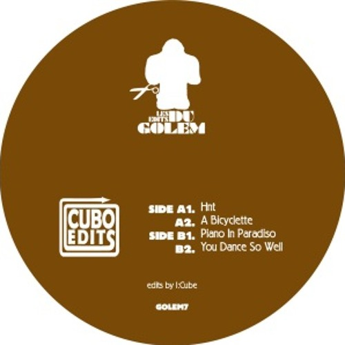 03 I:Cube - Piano In Paradiso (preview) - Cubo Edits - Golem07