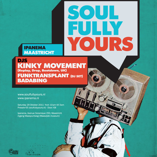 Kinky Movement Live 3hr set @ soulfully yours-Ipanema-Maastricht-Netherlands 29th Oct 2011