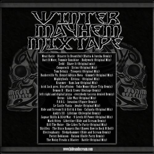 Hide and Scream presents Winter Mayhem [Mixtape]