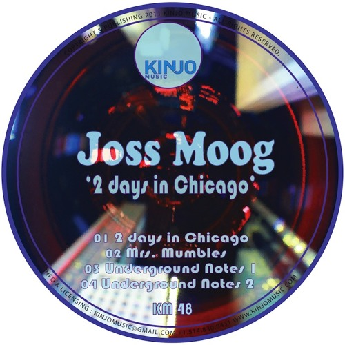 2 days in Chicago EP- Underground notes demo 128k- Kinjo