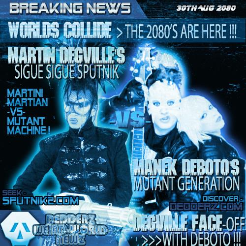 Sigue Sigue Sputnik Electronic Remixes