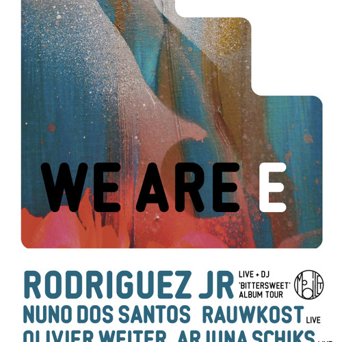 Olivier Weiter b2b Rodriguez Jr @ WE ARE E w/ Rodriguez Jr Studio 80 02.12.11