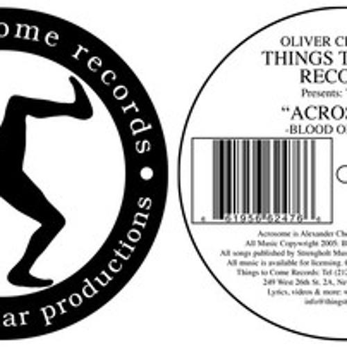 Blood On White Techno Mix - Acrosome