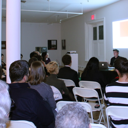Pascal Gielen Public Lecture, 8 November 2011, Art in General, New York
