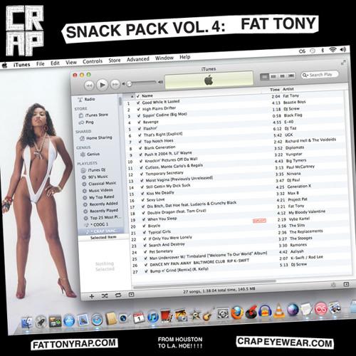 CRAP Eyewear Snack Pack Volume 4: Fat Tony