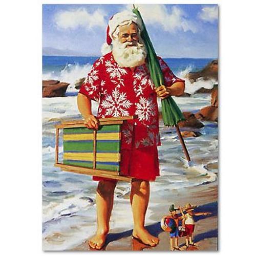 Santa Needs A Holiday