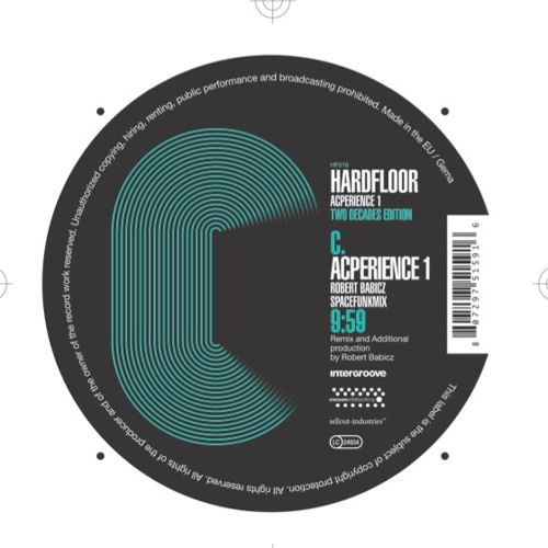 Hardfloor : Acperience 1 : ROBERT BABICZ REMIX - Out Now!
