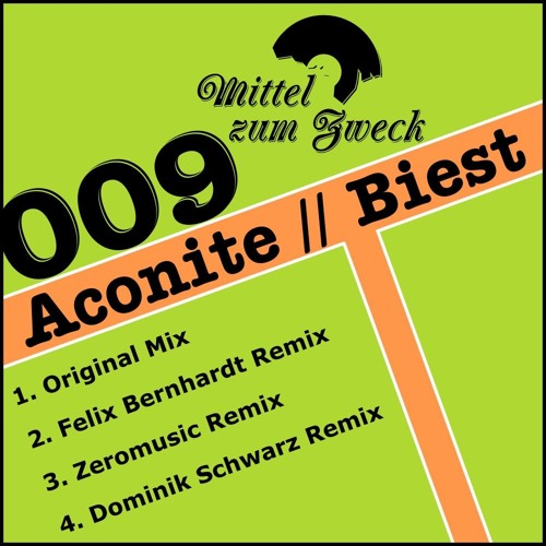 Aconite - Biest (Zeromusic Remix) - 96K Preview - out now on Mittel zum Zweck