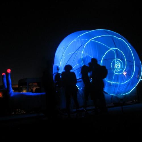 Jay Zimmermann @ Burning Man 2005 / Opulent Temple Sat Night