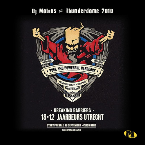 Dj Mobius @ Thunderdome 2010 Jaarbeurs Utrecht [NL] (SOUNDCLOUD VERSION)