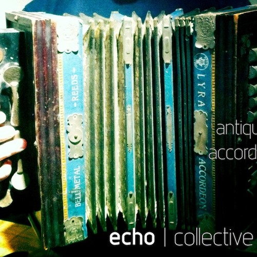Antique Accordion-design composition