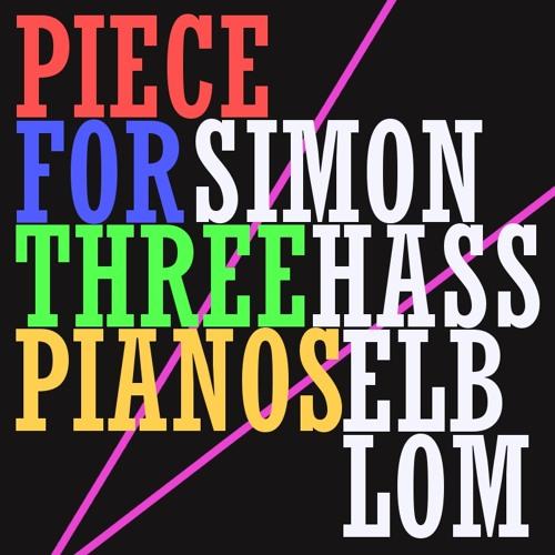 Piece for three pianos