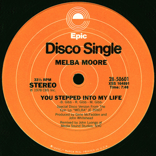 Melba Moore - You Stepped Into My Life (Deepnlow's Instrumental Edit)