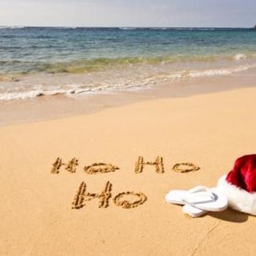 December Xmas On The Beach