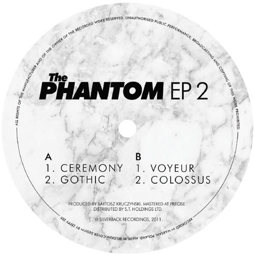 "THE PHANTOM - GOTHIC (Silverback Recordings) 12"""