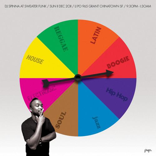 DJ SPINNA (Live at SWEATER FUNK 12/12/11)
