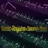 Music=Rhythm+Sound+Soul