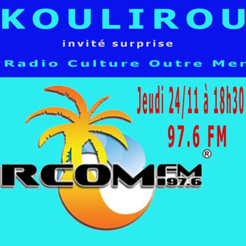 Interview koulirou sur Radio Culture Outre Mer (animateur : Maro)