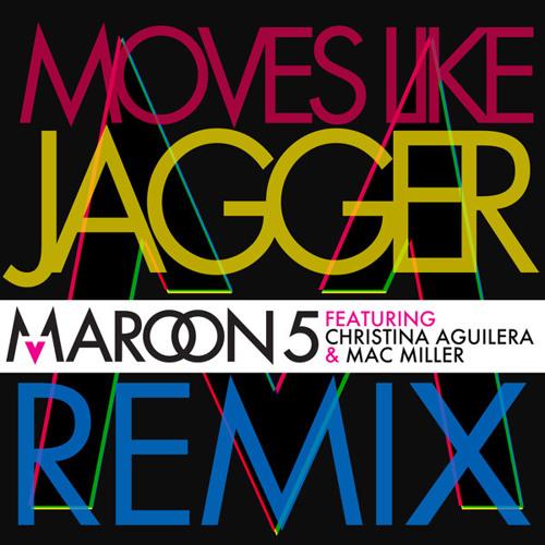 Maroon5 Moves Like Jagger Remix