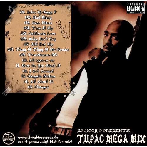Tupac Mega Mix (Dj Jiggy P) by Dj Jiggy P | Free Listening on SoundCloud