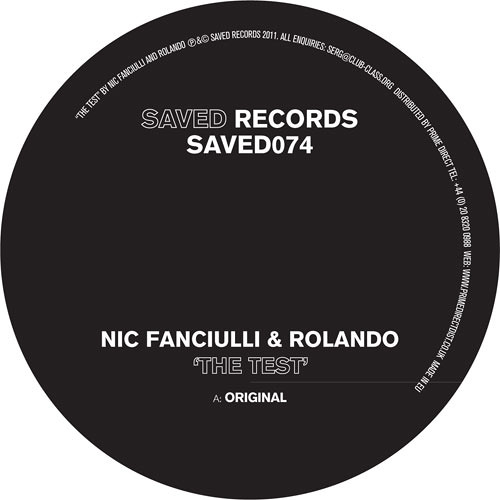 NIC FANCIULLI & ROLANDO - THE TEST [SAVED]