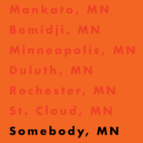 Somebody, MN feat. Atmosphere, Kill The Vultures, Big Quarters & MaLLy