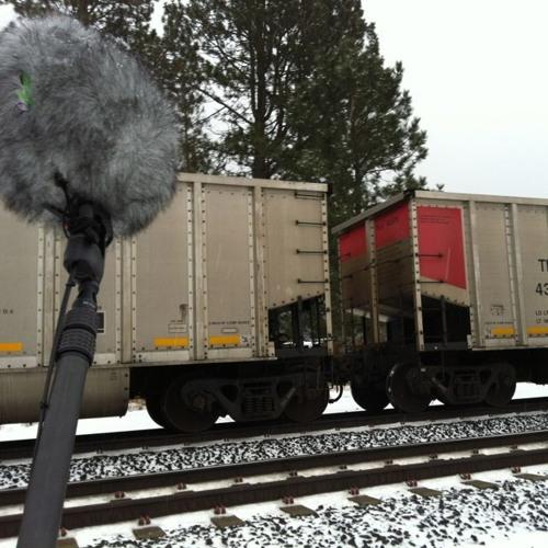 Train Railcars Metal Boom