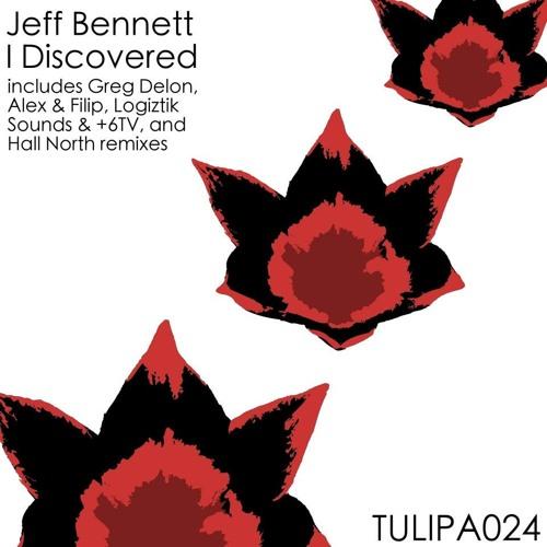 """Jeff Bennett """"i discovered"""" (Greg Delon remix)"""