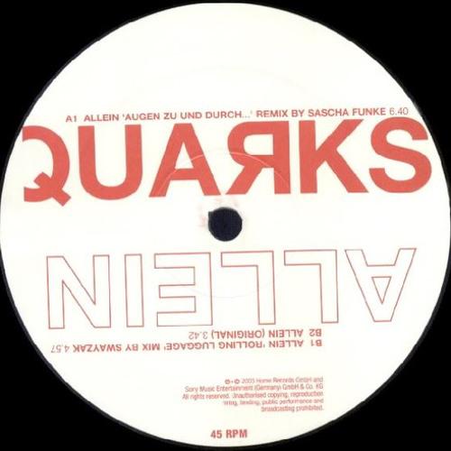 Quarks - Allein (Sascha Funke Remix)
