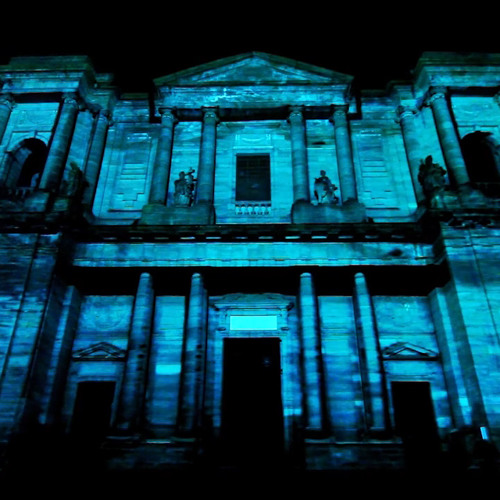 "-Video Mapping- Part of ""Notre Dame"""